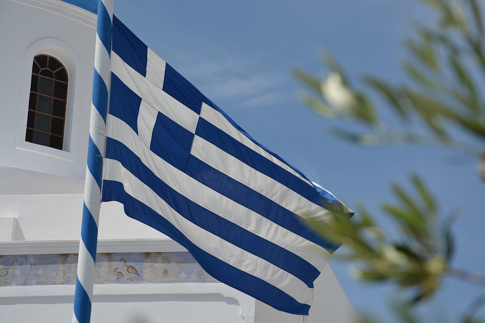 kreta polski przewodnik - grecka flaga