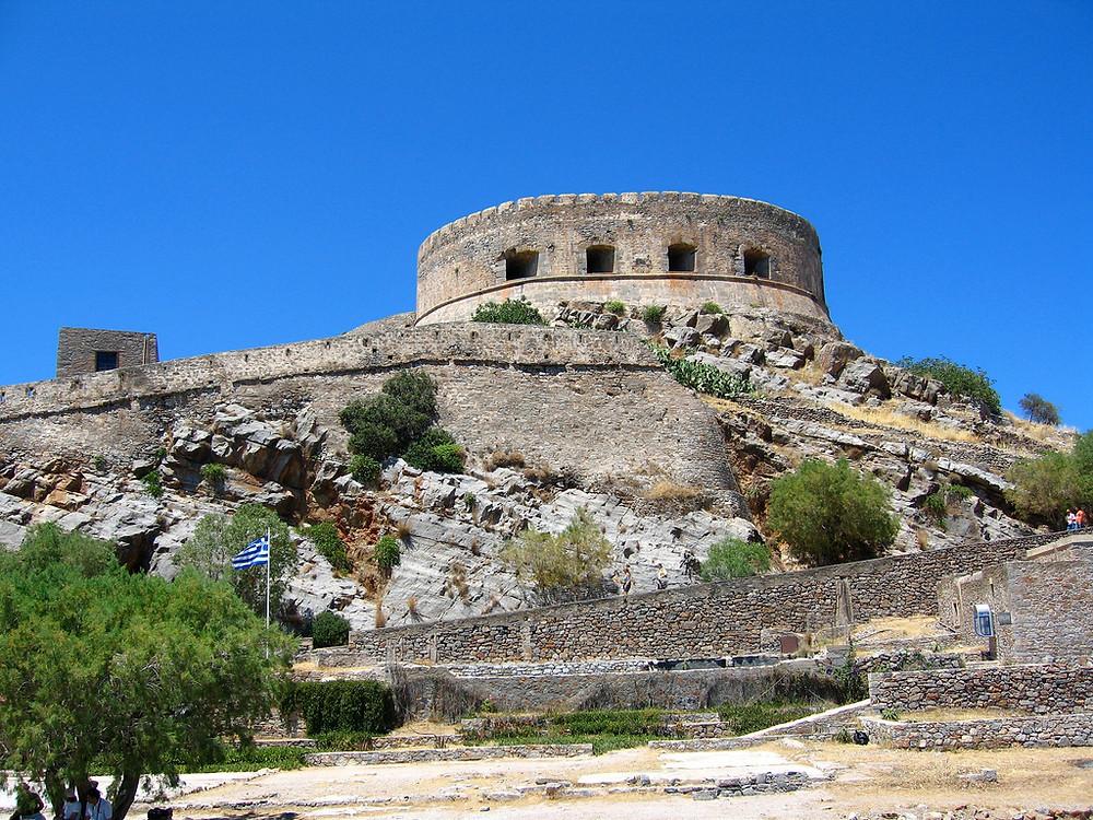 Wenecka forteca na Spinalondze
