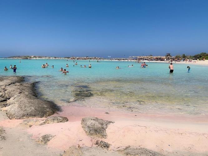 Elafonisi- różowa plaża