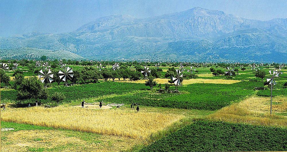 Płaskowyż Lassithi - dawny krajobraz