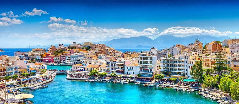 Agios Nikolaos - widok na zatokę