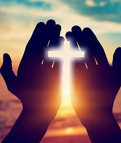 faith-christian-hands-cross-light-sunset