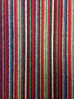 Contemporary Stripe - Poppy