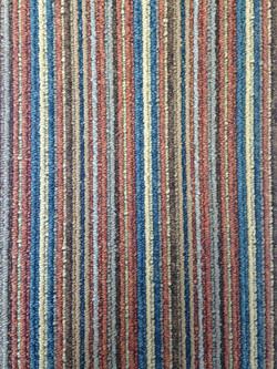 Contemporary Stripe - Terracotta