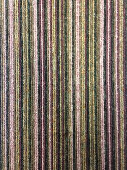 Contemporary Stripe - Plum