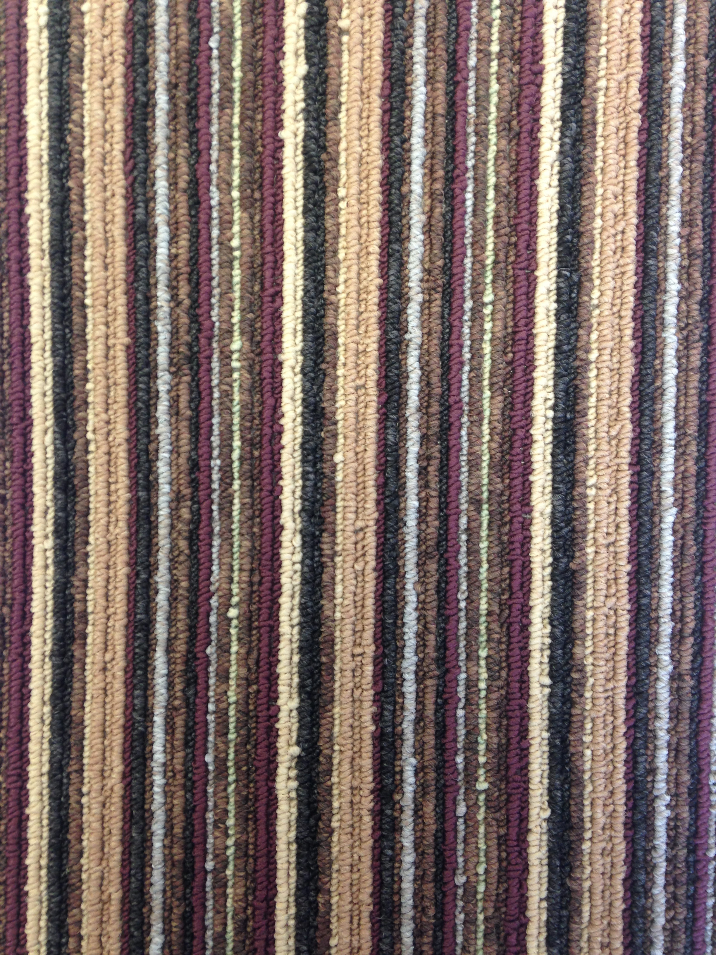 Contemporary Stripe - Damson