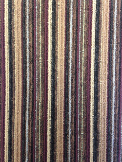 Contemporary Stripe - Damson