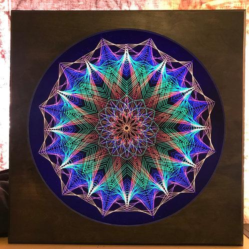 Cacti - String Art - UV Frame