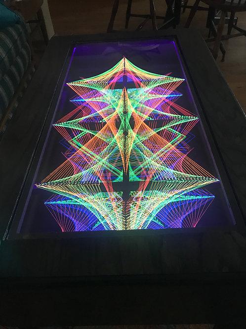 Warp Field Art Table