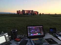 Stone Henge Projection Mapping