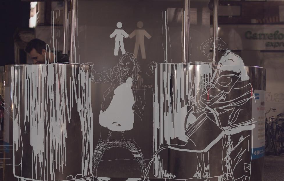 (Still) Urinary Arrogance, 2019, IKOB Feminist Art Prize 2019,  Eupen (BE)
