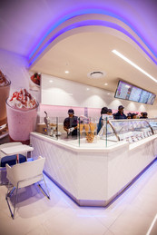 Opening of Baskin and Robins shot for Cape Etc.