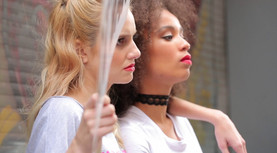 Fashion shoot for ClubX Magazine