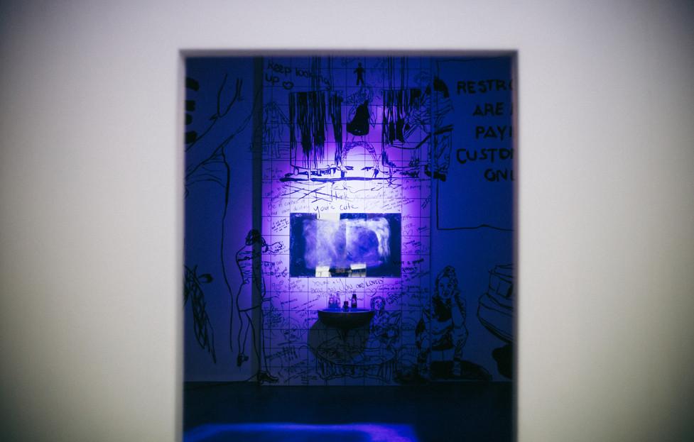 489Urinary Arrogance, 2019, IKOB Feminist Art Prize 2019,  Eupen (BE), Photo courtesy of  IKOB