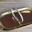 Thumbnail: Bracelet beige et argenté