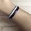 Thumbnail: Bracelet double gris et violet