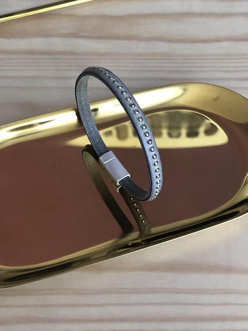 Bracelet gris fin
