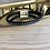Thumbnail: Bracelet cuir noir strass