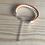 Thumbnail: Bracelet cuir enfant orange blanc