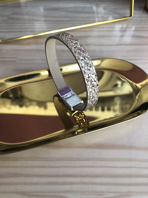 Bracelet scintillant or