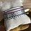 Thumbnail: Bracelet cuir rose et gris argenté
