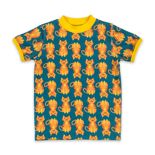 The Cat Crowd Organic Short-Sleeve T-Shirt For Toddlers, Kids