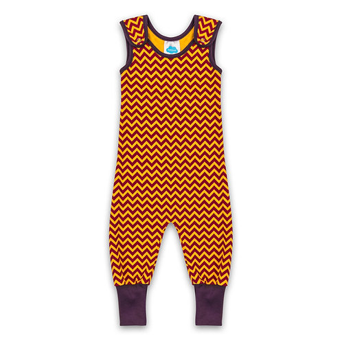 Chevron Dungarees For Babies, Toddlers