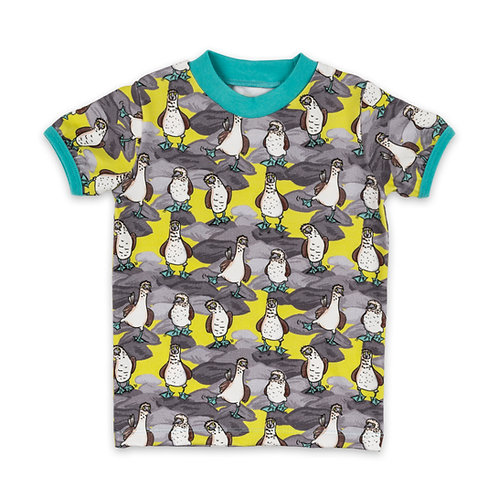 Blue Footed Boobies Organic Short-Sleeve T-Shirt For Toddlers, Kids