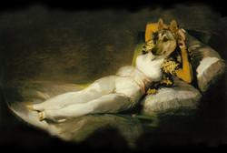 Shepard reclining