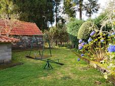 Hydrangea and Play Area