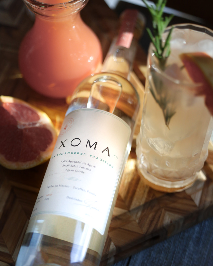 Drink Xoma with Grapefruit