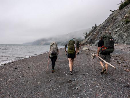 Backpacking Cape Chignecto Provincial Park, Nova Scotia
