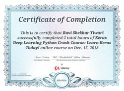 Keras Crash Course