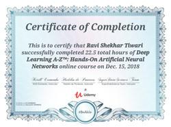 Deep Learning A-Z