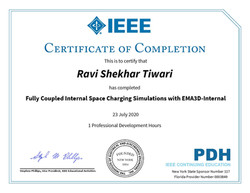 IEEE- Certificate