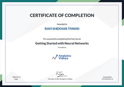 Getting Started with Neural Network