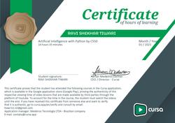 CS50- Artificial Intelligence Course