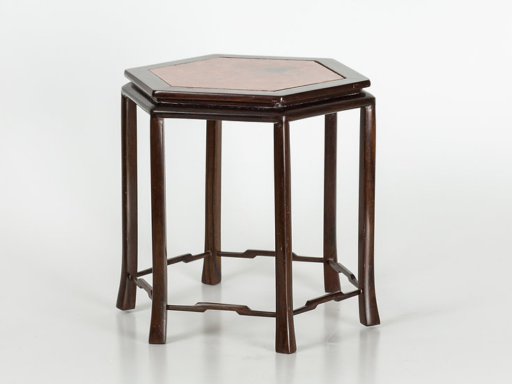 Hexagon Japanese Stand with Quince Top