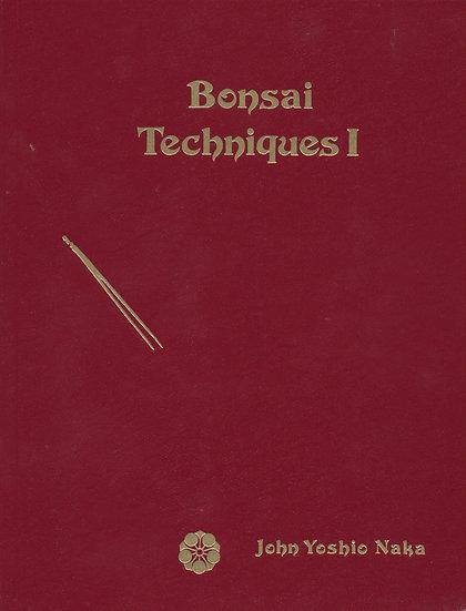Bonsai Techniques I (Unsigned)