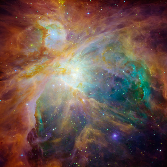 Chaos at the Heart of Orion - Contact for size/prices