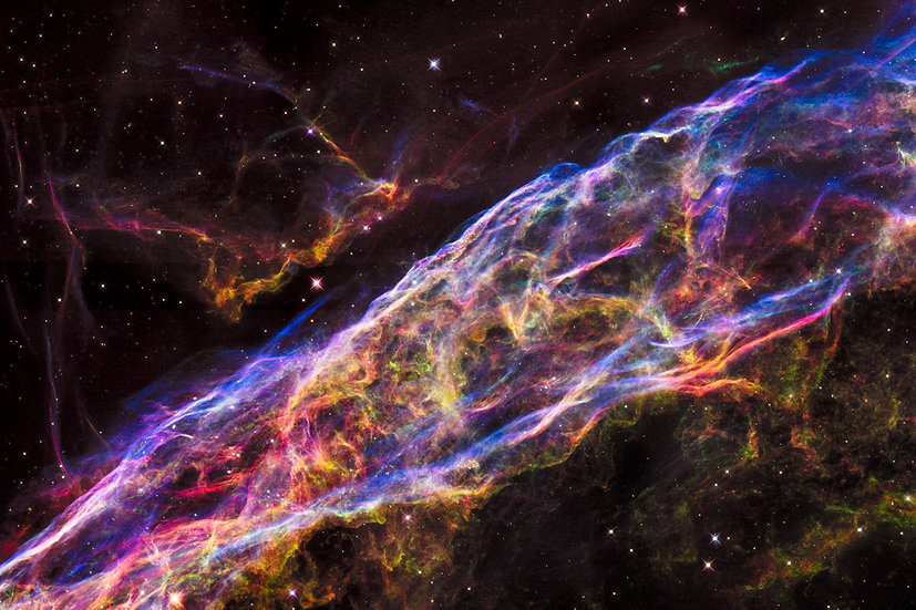 Veil Nebula HS-2015-29 - Contact for size/prices