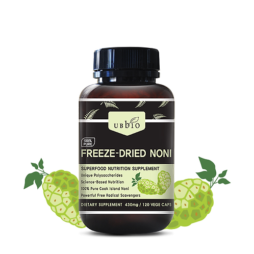 [UBBIO] FREEZE DRIED NONI  120 VEGE CAPS