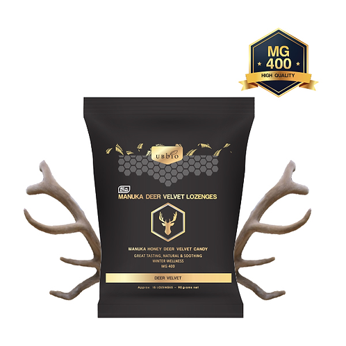 [UBBIO] 鹿茸蜂胶糖 90克/ 包