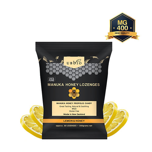 MANUKA HONEY LOZENGES (LEMON&HONEY)