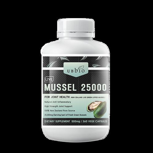 [UBBIO] LIVE MUSSEL 25000