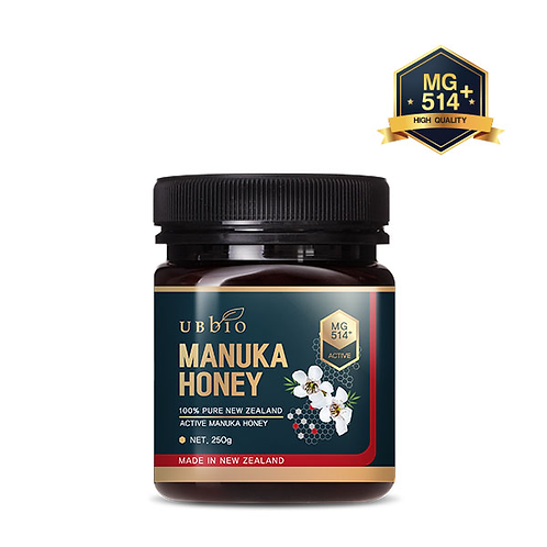 [UBBIO] MANUKA HONEY MG514+(15+) 250 G