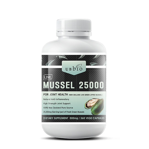LIVE GREEN LIPPED MUSSEL 25000
