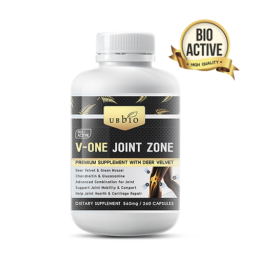 [UBBIO] V-ONE JOINT ZONE   120 / 360 CAPS