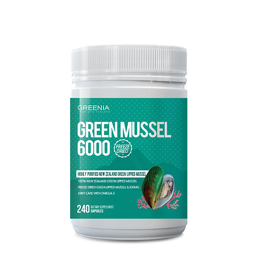 GREEN MUSSEL 6000 '100% PURE GREEN LIPPED MUSSEL'