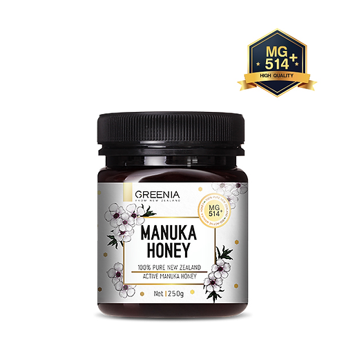 [GREENIA] MANUKA HONEY MG514+(UMF15+) 250 G